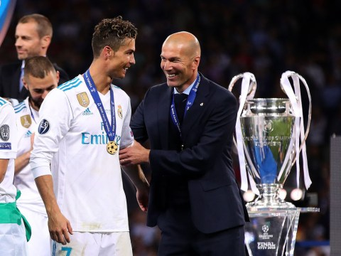 Manchester United should hire Zinedine Zidane in order to sign Cristiano Ronaldo, says Stan Collymore