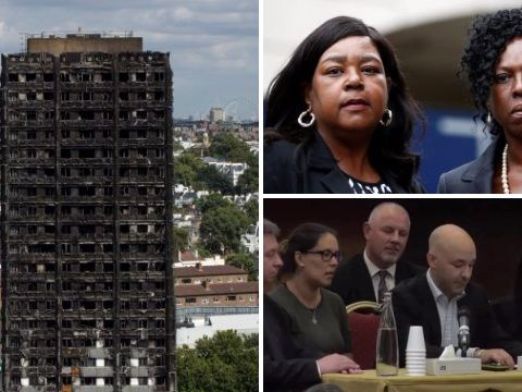 Tears shed as families relive unimaginable horror of Grenfell fire on first day of inquiry