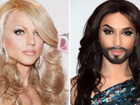 Courtney Act believes Conchita Wurst's HIV is a 'non-issue' as she applauds singer for speaking out