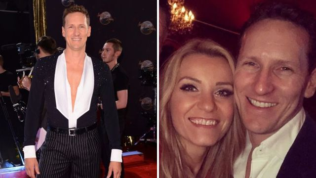 Married ex-Strictly star Brendan Cole caught getting hands on with tour singer as he touches her bum