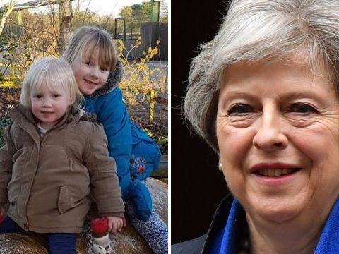 Girl, 6, writes heartbreaking letter to Theresa May asking for life-saving drug