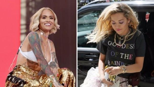 0e63555b Kehlani slams Rita Ora's 'bisexual anthem' Girls for 'harmful' lyrics