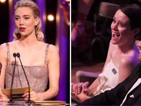 The Crown's Vanessa Kirby thanks 'best sister' Claire Foy in moving Bafta winning speech