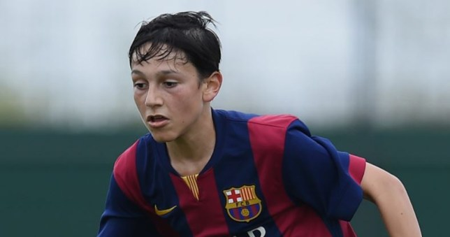 Arsenal beat Liverpool to sign Barcelona wonderkid