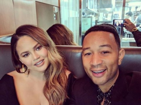 Chrissy Teigen and John Legend treat themselves to first date night since son Miles' birth