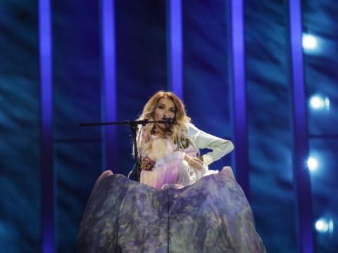 Russia builds Julia Samoylova a mountain but Moldova jump over it with the fun moment of Eurovision 2018