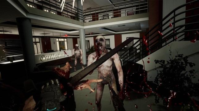 Killing Floor: Incursion (PSVR) - zombies aren't the most intelligent of enemies
