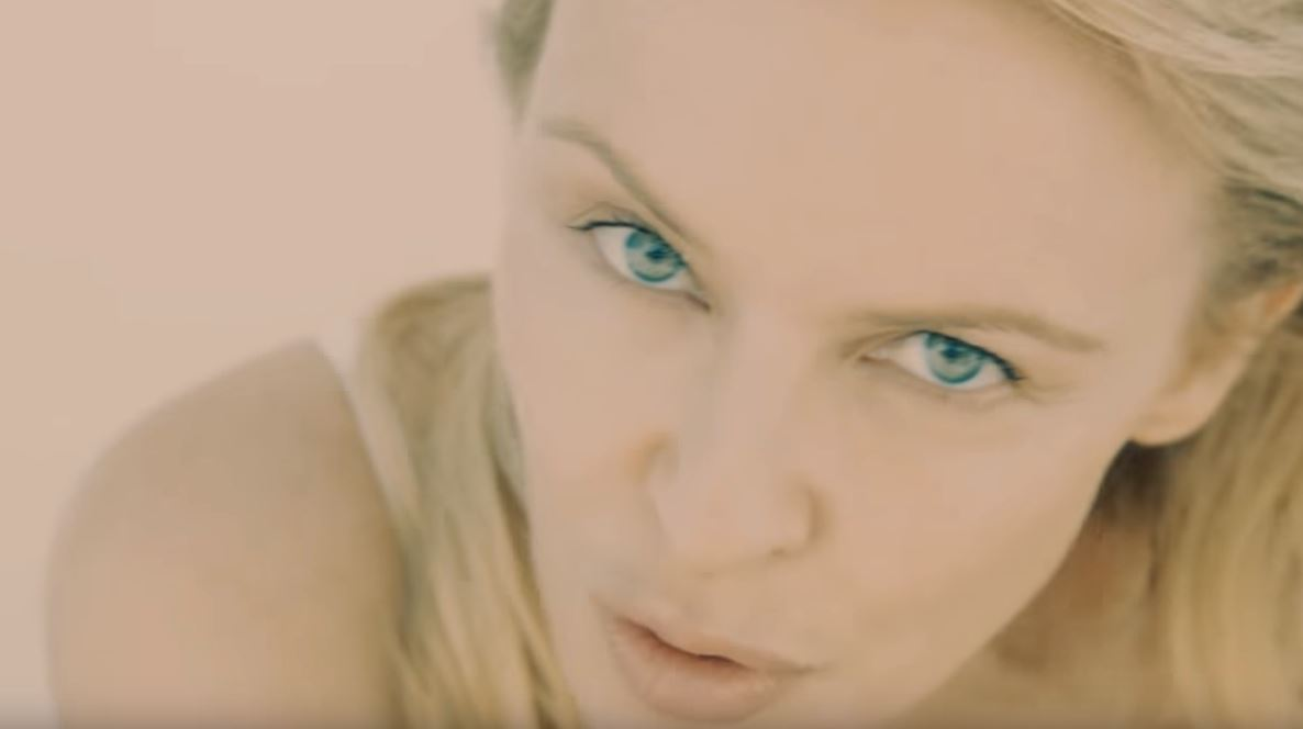 Kylie Minogue goes makeup free in new video for Golden to mark 50th birthday