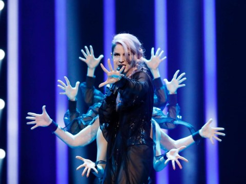 Slovenia's Eurovision entry cutting out mid-song was actually a stunt