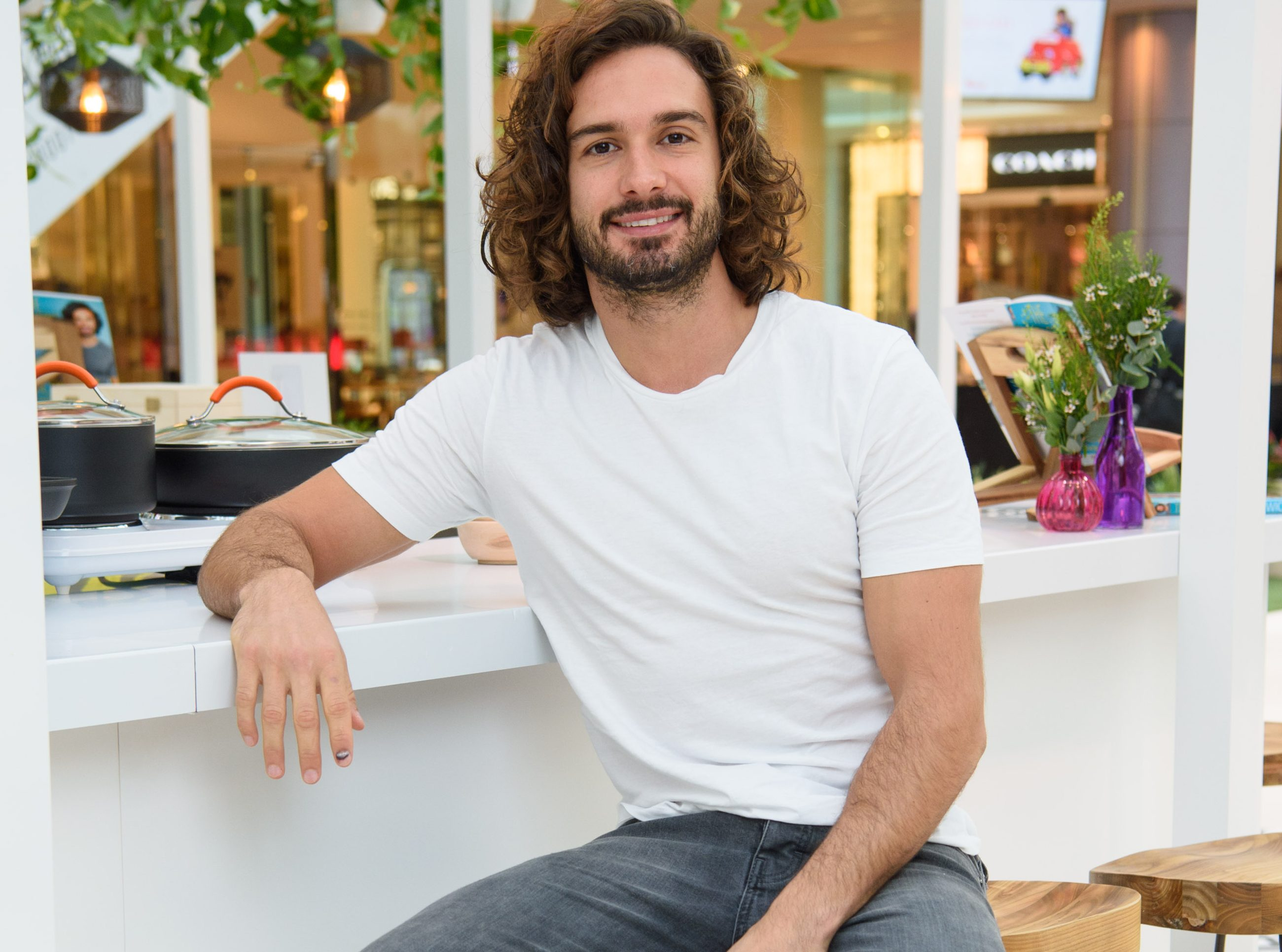 Joe Wicks opened up about fad diets (Picture: Westfield/PA)