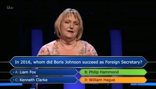 Millionaire 31,000 loss (ITV)