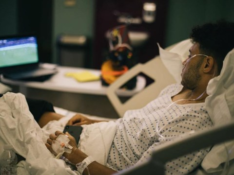 Alex Oxlade-Chamberlain watched Liverpool's defeat of Roma from hospital bed – shares devastating picture