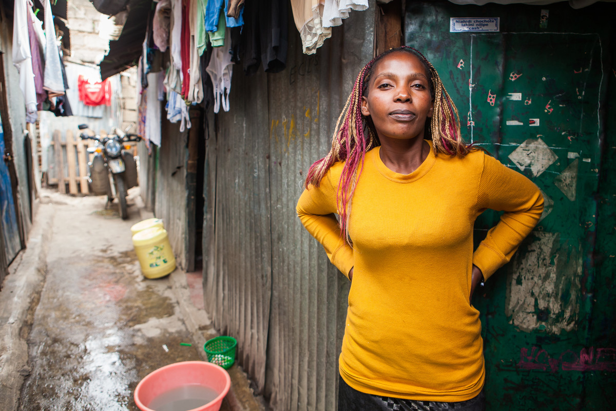 Patience's daughter was raped at 13; she's now a 'gender defender'