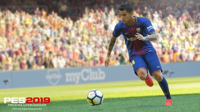 PES 2019 out in August with Philippe Coutinho as cover star