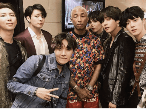 Did BTS and Pharrell Williams make friendship 'official' following Billboard Music Award?