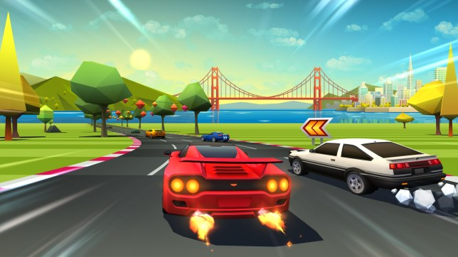 Horizon Chase Turbo (PS4) - racing back in time