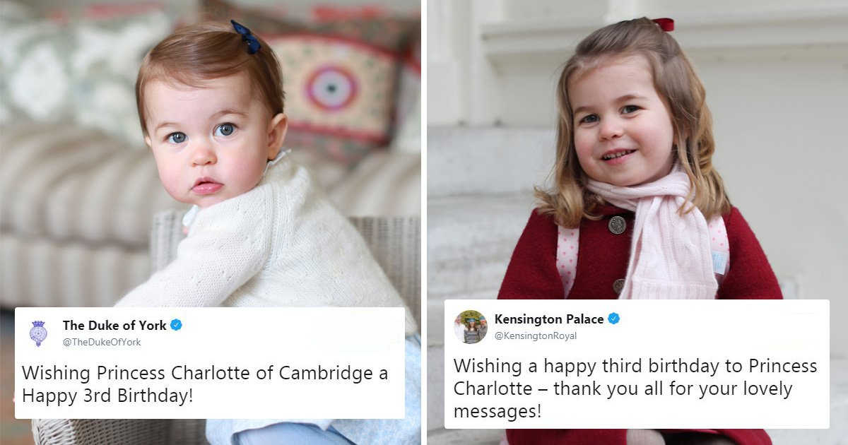 Palace thanks royal fans for Princess Charlotte's birthday messages