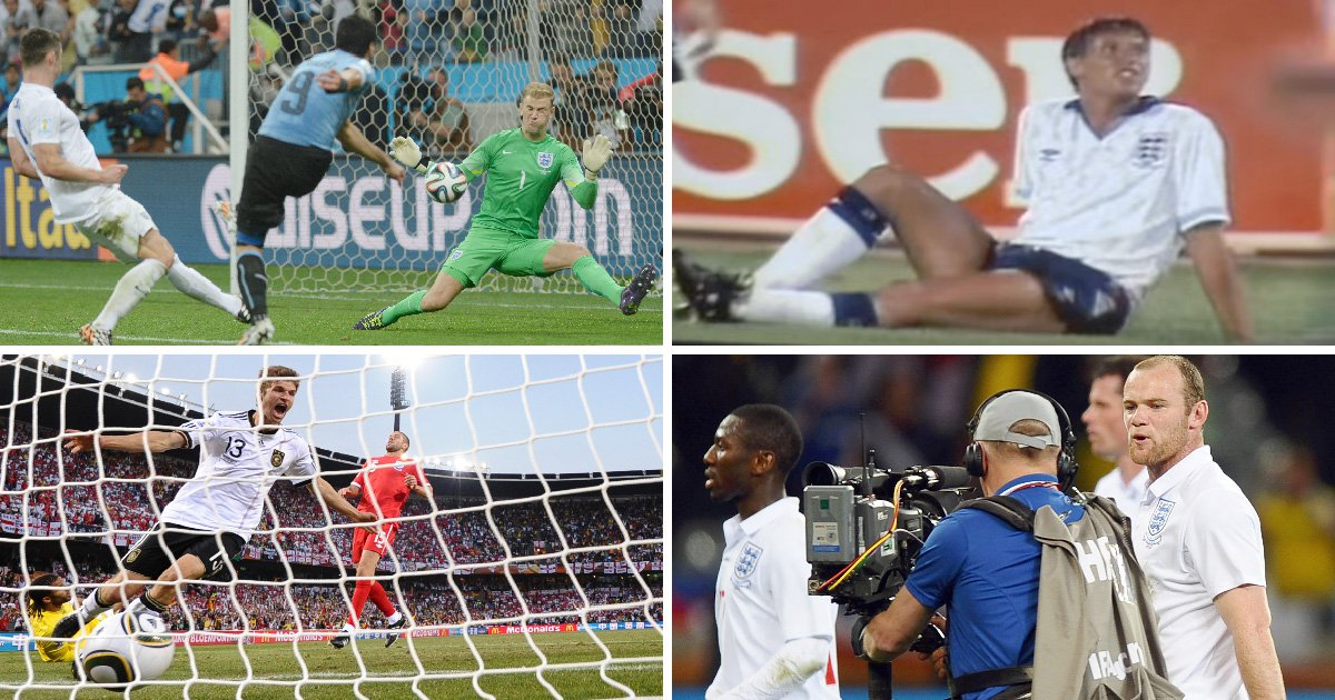 England's worst-ever performances at the World Cup