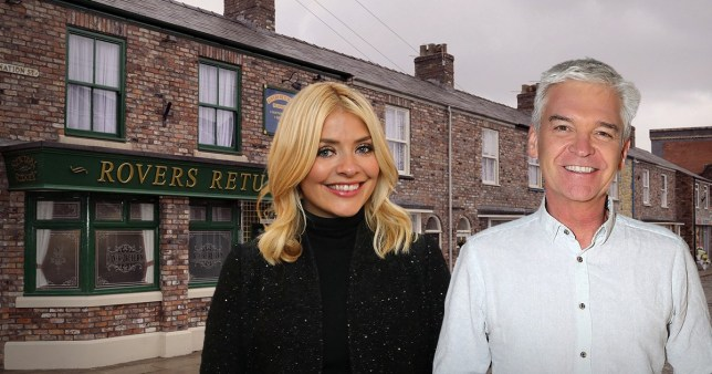 Holly and Phil join Coronation Street