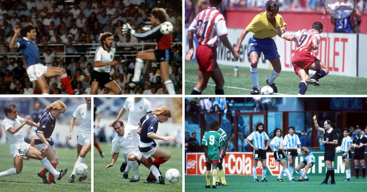 The worst tackles, challenges and fouls in the history of the World Cup