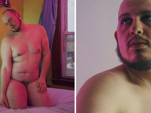 Man who thought he was a 'fat ugly loser' poses in body positive photo series