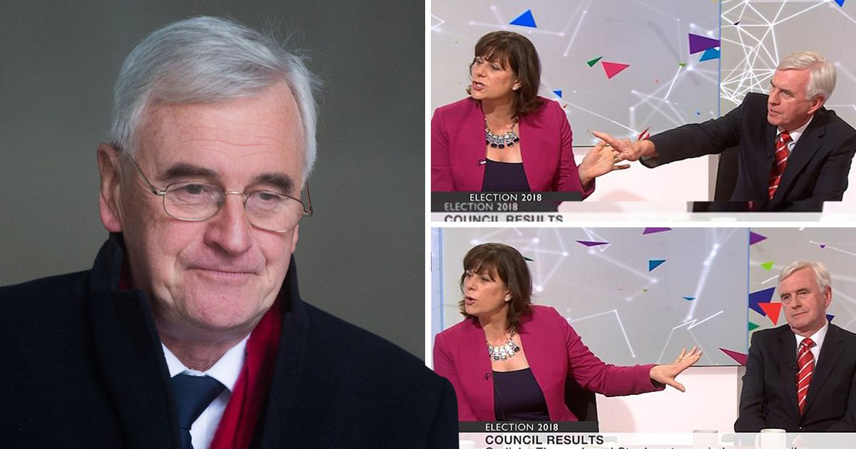 John McDonnell accused of telling Tory MP to 'get back in your box woman'