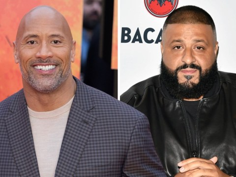 Dwayne Johnson has some choice words for DJ Khaled as producer admits he doesn't go down on his wife