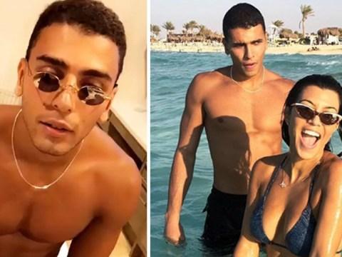 Kourtney Kardashian proudly shows off shirtless boyfriend Younes Bendjima on his 25th birthday