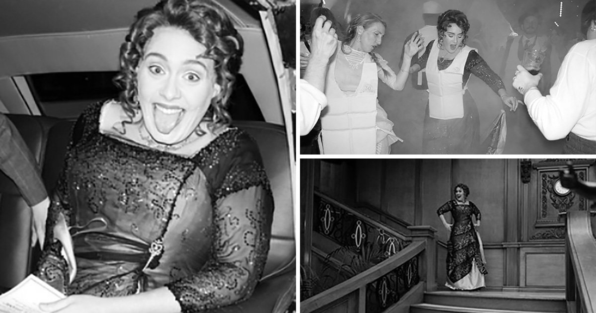 Adele 'absolutely f**ked' following epic Titanic-themed 30th birthday party