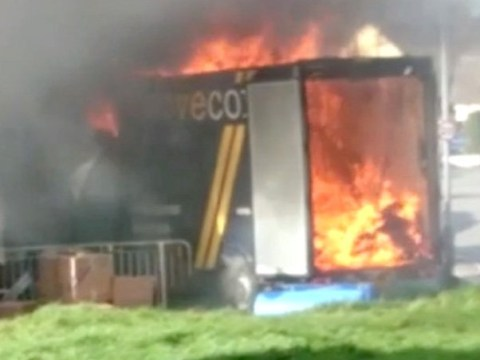 Bankrupt man sets all his belongings on fire so they can't be seized by bailiffs