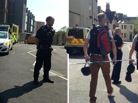 Oxford in lockdown after gunshots heard in city centre