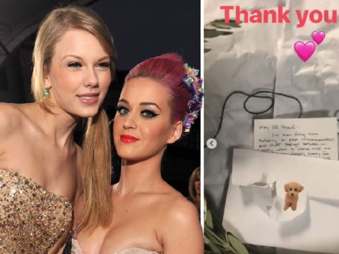 Katy Perry 'upset at Taylor Swift again just one day after ending feud with Reputation gift'