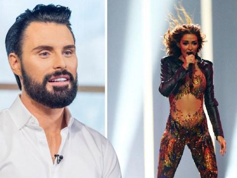 Rylan Clark wins Eurovision semi-final with Miss Vanjie Drag Race gag