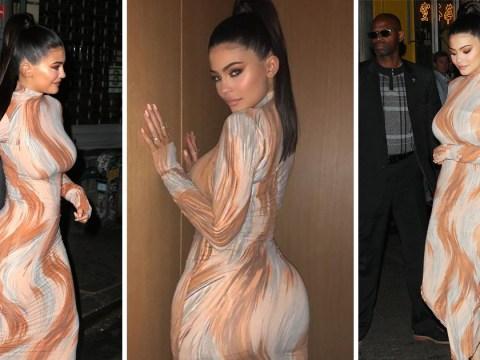 Kylie Jenner rocks nude dress that looks like body paint after Met Gala