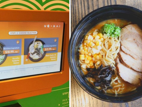American man gets mad at not having 24/7 noodles so makes his own ramen vending machine