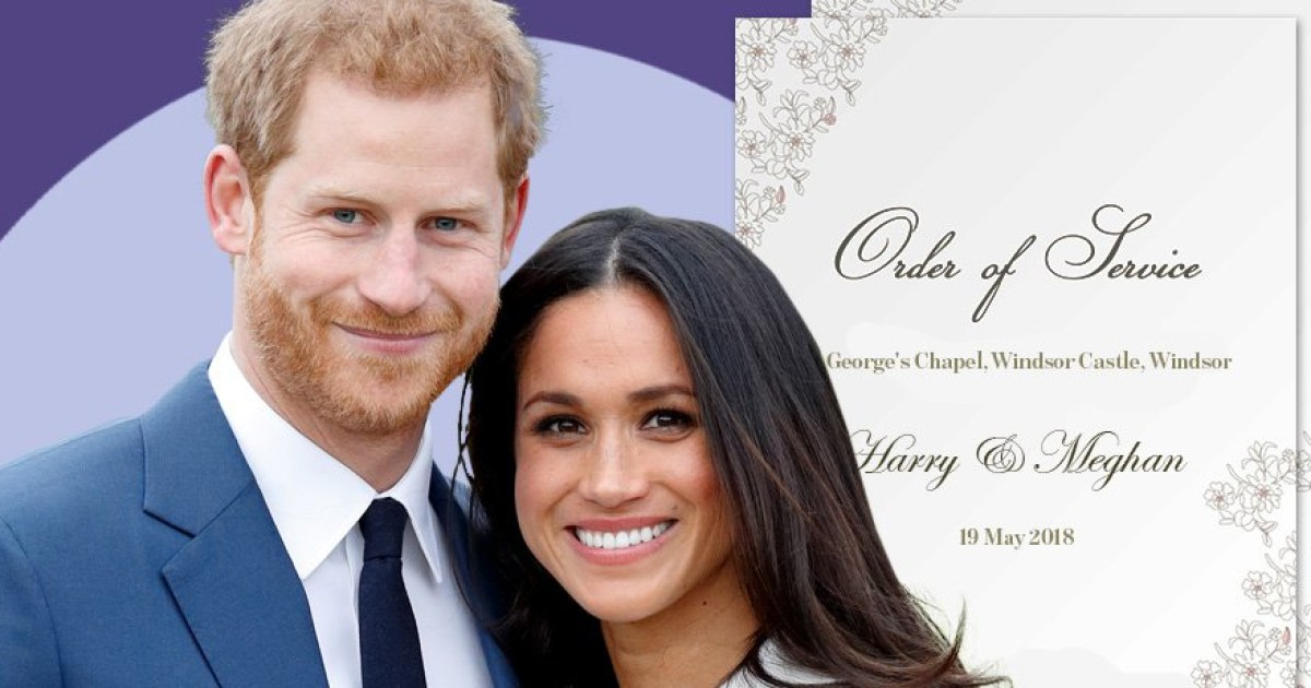 Royal Wedding Schedule.Royal Wedding Schedule Date And Times For Harry And Meghan S Big
