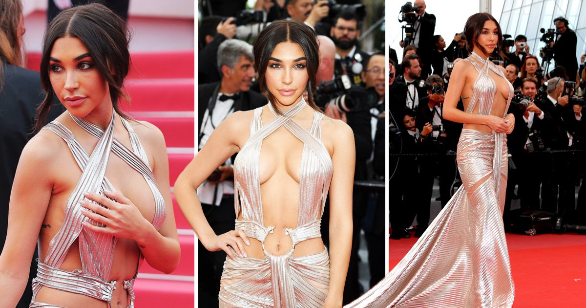 The Weeknd's rumoured girlfriend Chantel Jeffries makes statement at Cannes in daring dress