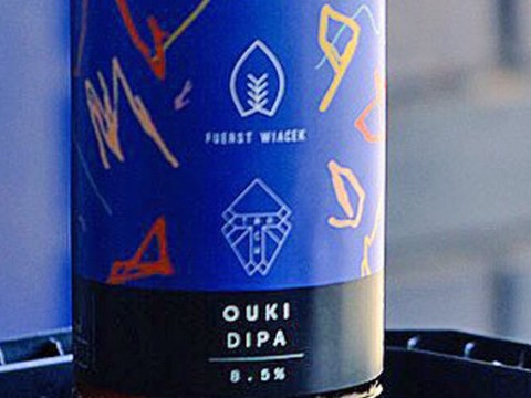 A 2-year-old's scribbles have been turned into beer bottle packaging