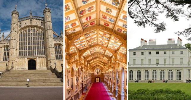 Inside Prince Harry And Meghan Markle S Three Wedding Venues