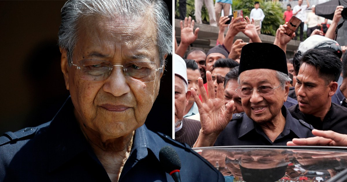 Malaysia's new PM becomes world's oldest leader at ripe old age of 92