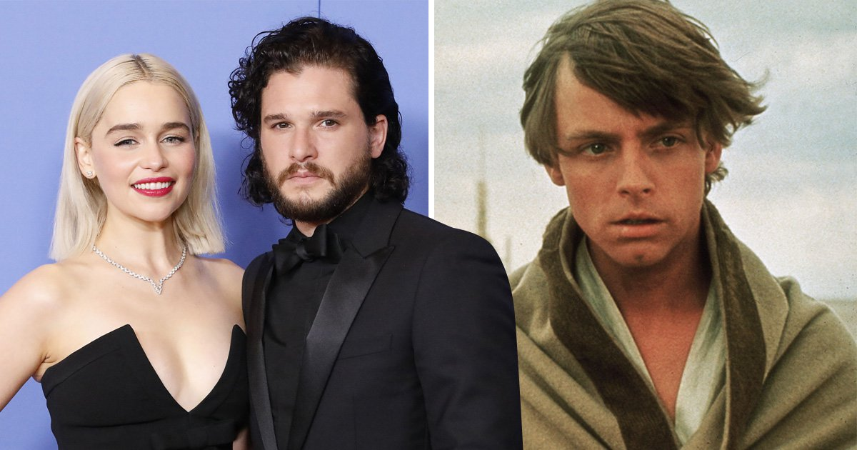 Solo's Emilia Clarke wants GOT's co-star Kit Harington to play a young Luke Skywalker in a Star Wars Story film