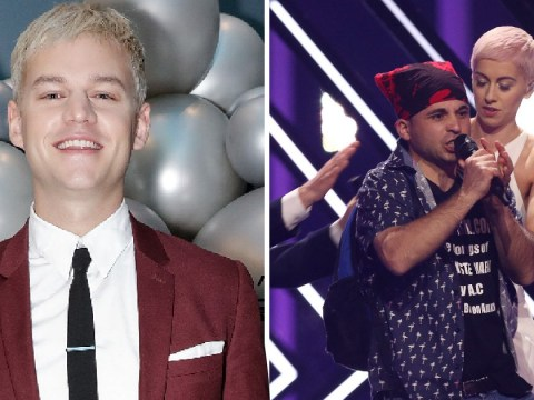 Australian Eurovision presenter calls SuRie stage invader an 'absolute c***head' on live TV