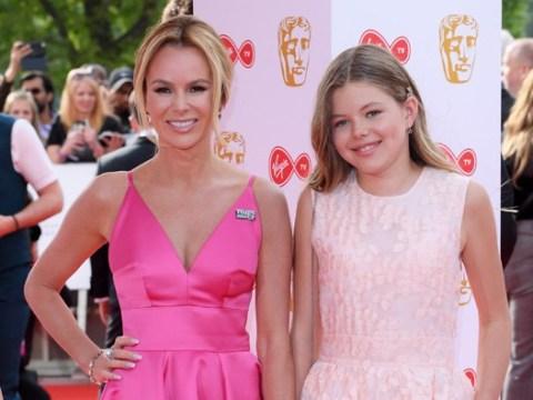 Amanda Holden's daughter Lexi, 12, makes red carpet debut at Bafta TV Awards 2018
