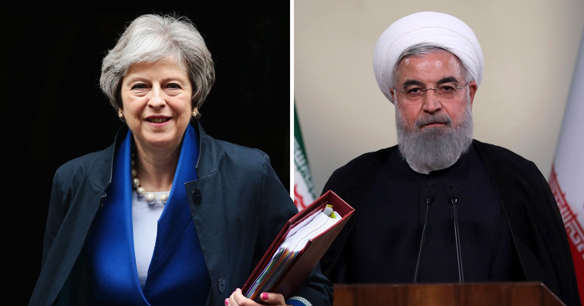 Theresa May phones Iranian president with 'firm commitment' to nuclear deal