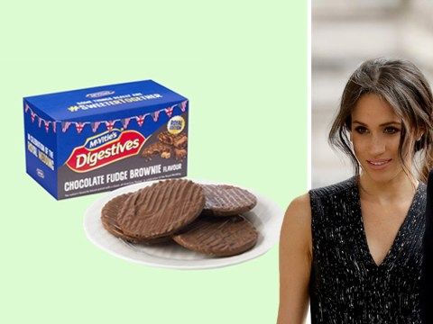 McVitie's chocolate digestives is getting a royal wedding edition