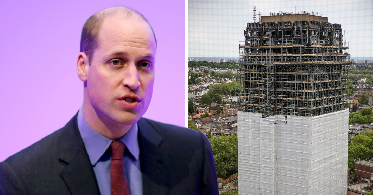 Prince William to help rebuild Grenfell boxing club destroyed by fire