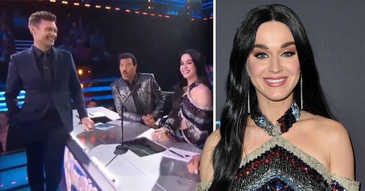 Ryan Seacrest makes uncomfortable pass at Katy Perry in awkward American Idol segment