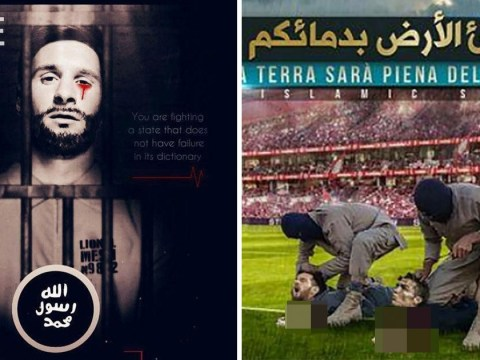 New Isis video shows Ronaldo and Messi being beheaded at the World Cup