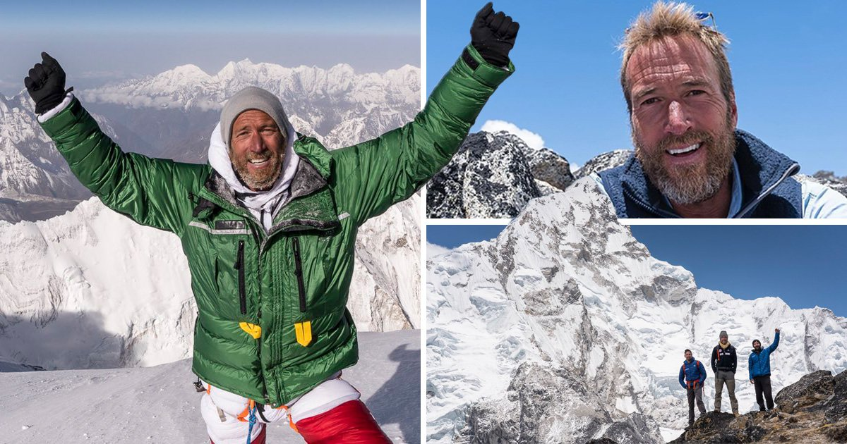 Ben Fogle manages to complete Mount Everest climb as he dedicates feat to stillborn son
