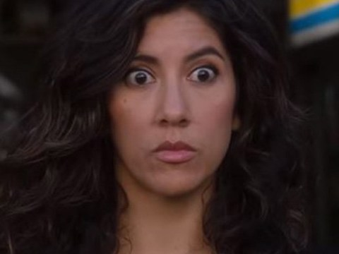 Brooklyn Nine-Nine's Rosa Diaz wants to sex up Jane the Virgin's Gina Rodriguez as they meet for first time